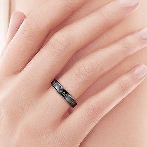 Tiffany & Co. 1837 Titanium Ring